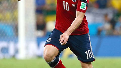 James Rodriguez (Colombia)