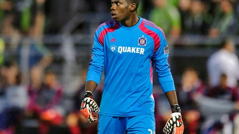 Sean Johnson, Chicago goalkeeper