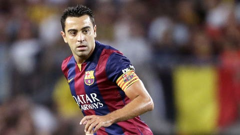 Xavi - 157 appearances