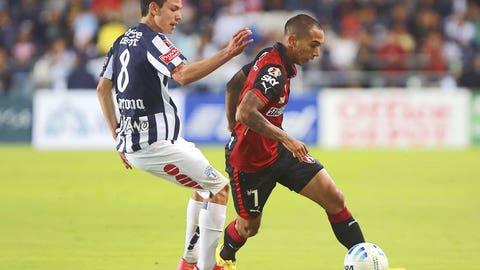 Edgar Castillo, Atlas defender