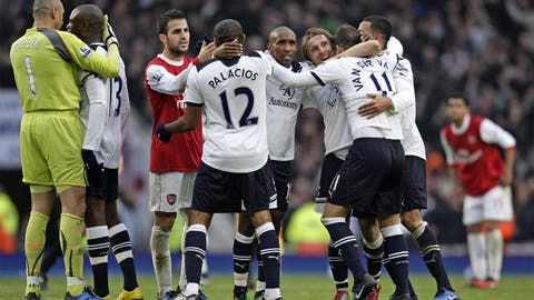 November 20, 2010: Arsenal 2 Tottenham 3