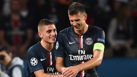 Paris Saint-Germain (Last week: Not ranked)