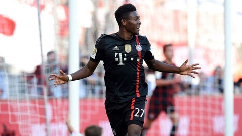 Bayern Munich (Last week: Second)