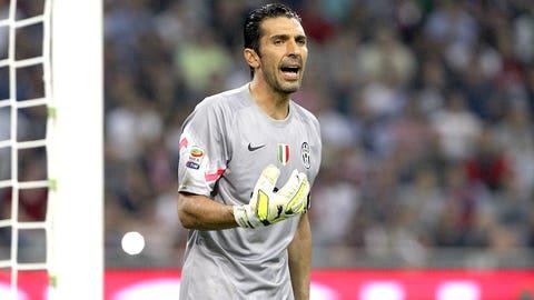 Juventus (Last week: Sixth)