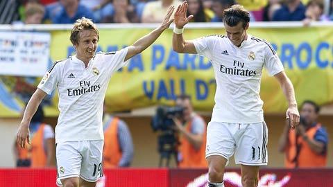 Real Madrid (Last week: Fifth)