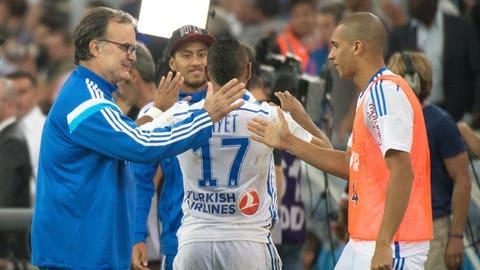 Olympique de Marseille (Last week: Eight)
