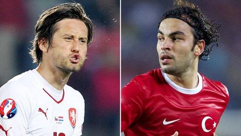Turkey vs. Czech Republic (live, Friday, 2:45 p.m. ET)