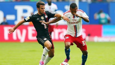 Julian Green, Hamburger SV forward