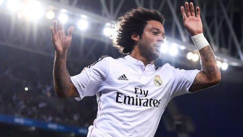 D: Marcelo (Brazil, Real Madrid)