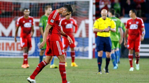 FC Dallas – tied 1-1 on aggregate with Seattle – second leg: at Seattle on Monday