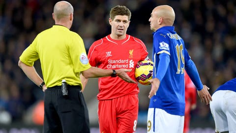 At 34, Steven Gerrard is still important for Liverpool's hopes