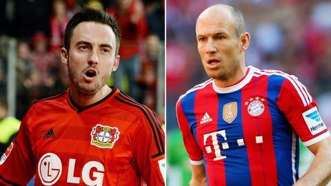 Bundesliga: Bayern Munich vs. Bayer Leverkusen (live, Saturday, 12:30 p.m. ET)