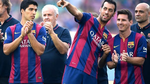 La Liga: Getafe vs. Barcelona (live, Saturday, 10 a.m. ET)
