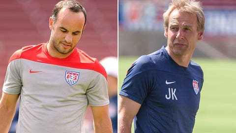Jurgen Klinsmann leaves Landon Donovan off U.S. World Cup roster