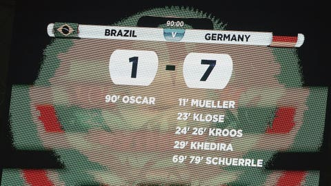 Brazil suffer humiliating defeat on home soil