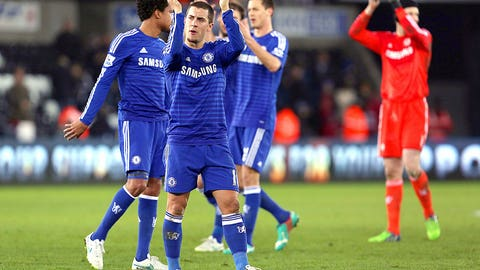 Chelsea returns to its swashbuckling best against Swansea City