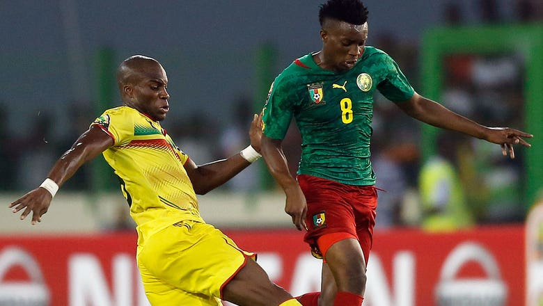 Cameroon score late to draw Mali in Cup of Nations opener