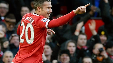 Manchester United exorcise Leicester City demons as Falcao and van Persie come good