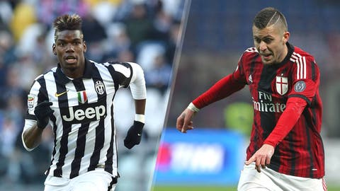 Serie A: Juventus vs. AC Milan (live, Saturday, 2:45 p.m. ET)