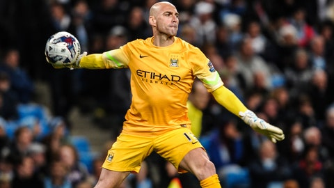 Manchester City still have goalkeeper issues