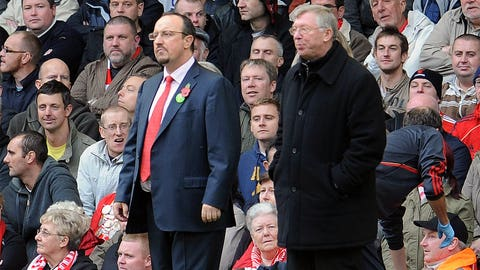 Rafael Benitez vs. Sir Alex Ferguson