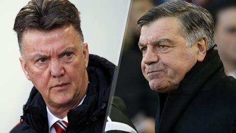 Louis van Gaal vs. Sam Allardyce