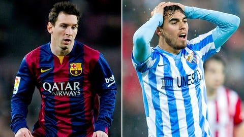 La Liga: Barcelona vs. Malaga (live, Saturday, 10 a.m. ET)