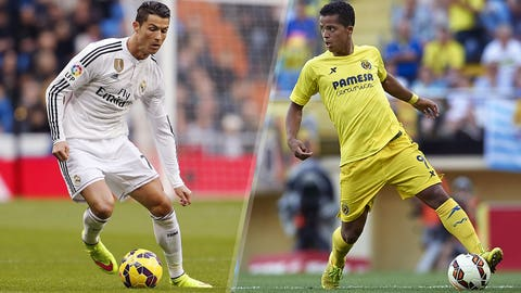 La Liga: Real Madrid vs. Villarreal (live, Sunday, 3 p.m. ET)