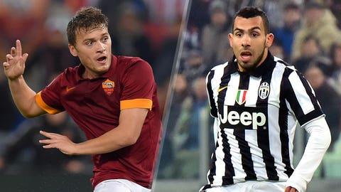 Serie A: Roma vs. Juventus (live, Monday, 2:45 p.m. ET)