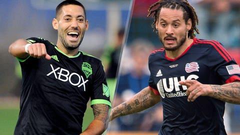 Major League Soccer: Seattle Sounders vs. New England Revolution (live, Sunday, 9:30 p.m. ET)