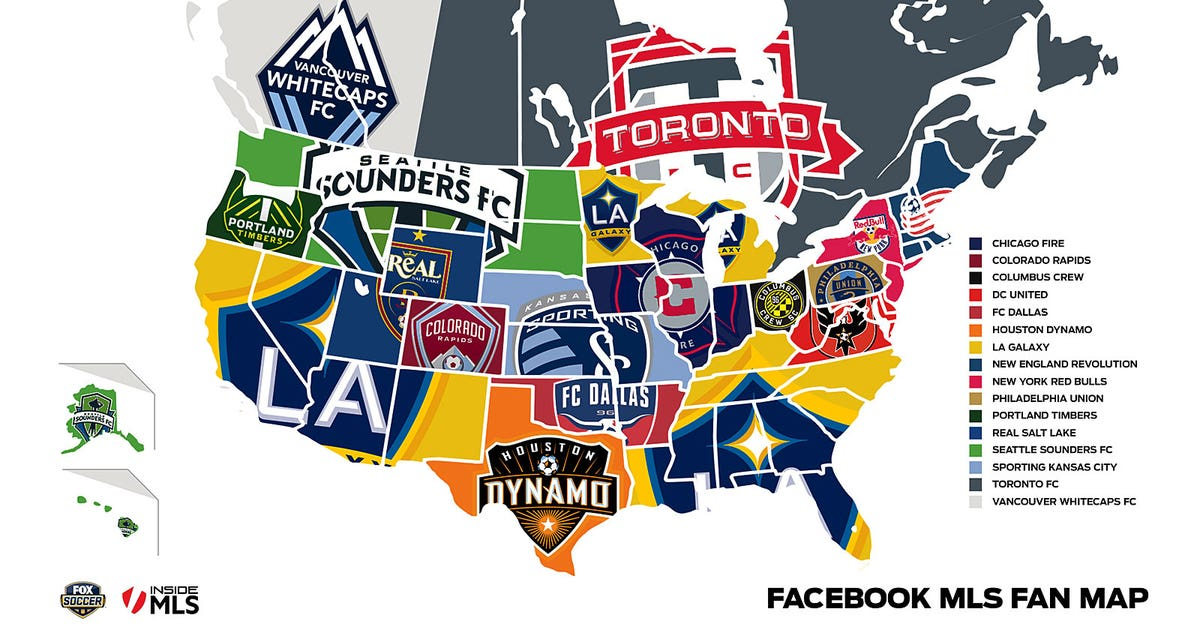 Fox Soccer Facebook Combine To Map Out Mls Fans In Usa