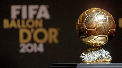 U.S. men's soccer player wins FIFA's Ballon d'Or