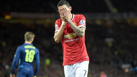 Angel Di Maria's out, and Manchester United shine