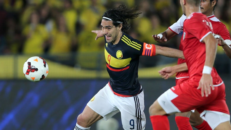 Falcao equals Colombian scoring record in friendly win over Kuwait