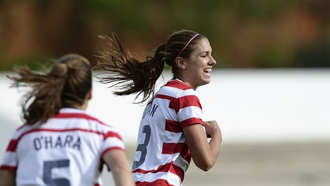 Scoring in droves at Algarve Cup (2013)