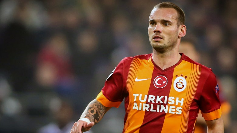 Watch Wesley Sneijder prove he's still got it with this rocket stunner of a goal