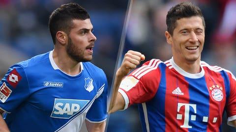 Bundesliga: Hoffenheim vs. Bayern Munich (live, Saturday, 9:30 a.m. ET)