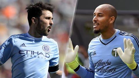 Major League Soccer: New York City FC vs. Portland Timbers (live, Sunday, FOX Sports 1, 7 p.m. ET)