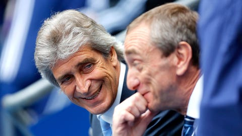 Manuel Pellegrini gets some room to breathe
