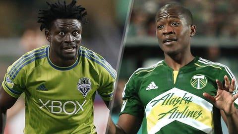 Major League Soccer: Seattle Sounders vs. Portland Timbers (live, FOX Sports 1, Sunday, 6:30 p.m. ET)