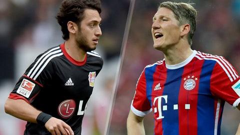 Bundesliga: Bayer Leverkusen vs. Bayern Munich (live, Saturday, 12:30 p.m. ET)