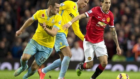 Premier League: Crystal Palace vs. Manchester United (live, Saturday, 12:30 p.m. ET)