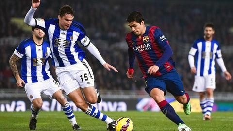 La Liga: Barcelona vs. Real Sociedad (live, Saturday, 12 p.m. ET)