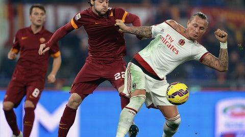 Serie A: AC Milan vs. Roma (live, Saturday, 2:45 p.m.)