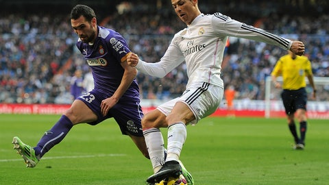 La Liga: Espanyol vs. Real Madrid (live, Sunday, 1 p.m. ET)