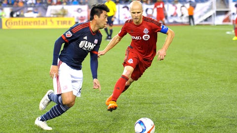 Toronto FC locates stable footing in midfield