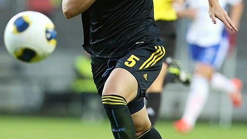 Nilla Fischer, Sweden, Midfielder/Defender