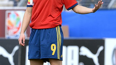 Veronica Boquete, Spain, Forward