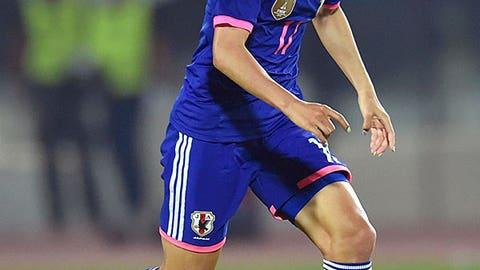Yuki Ogimi, Japan, Forward
