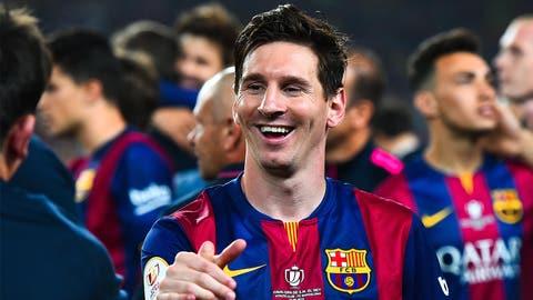 Lionel Messi, Barcelona (F)
